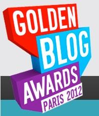 golden blog awards paris 2012