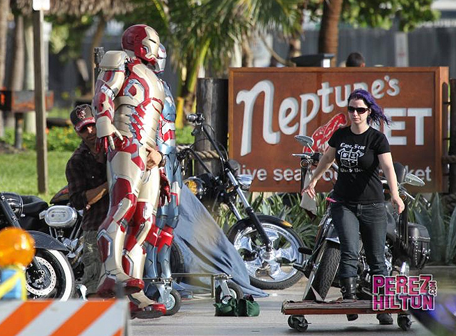 Iron Man 3 Behind the scenes 6